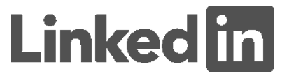 LinkedIn Logo Grey