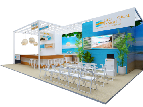 Event Planning & Booth Design - Geophysical Insights