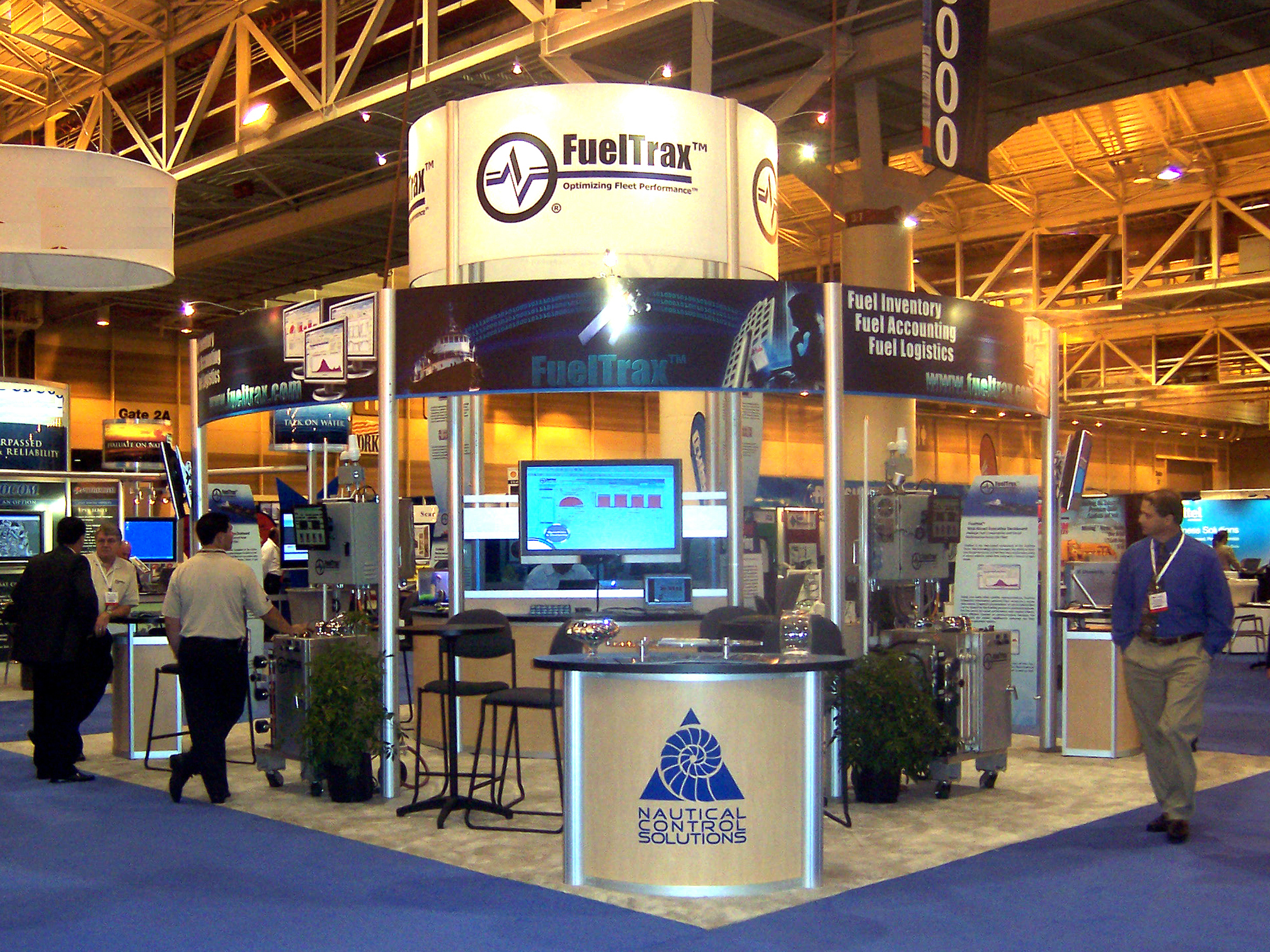Event Management - FuelTrax Actual Booth