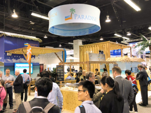 Event Planning - Geophysical Insights Booth Overview